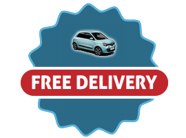 free pickup and delivery service icon
